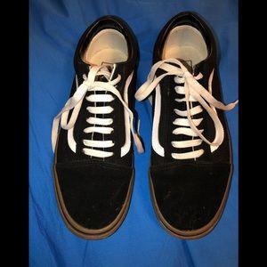 Vans old Skool black/white mens 8.5 women's 10